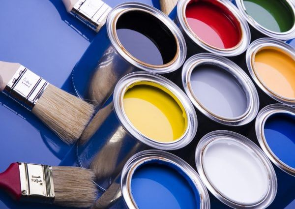 Можно ли покрасить бетонные стены без шпаклевки