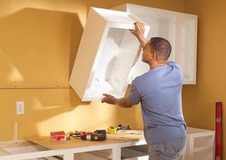 Можно ли на перегородку из гипсокартона вешать кухонные шкафы от