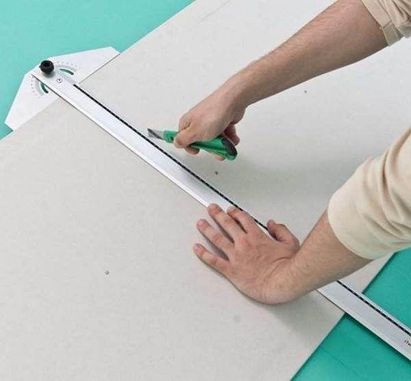 Чем резать влагостойкий гипсокартон в домашних условиях