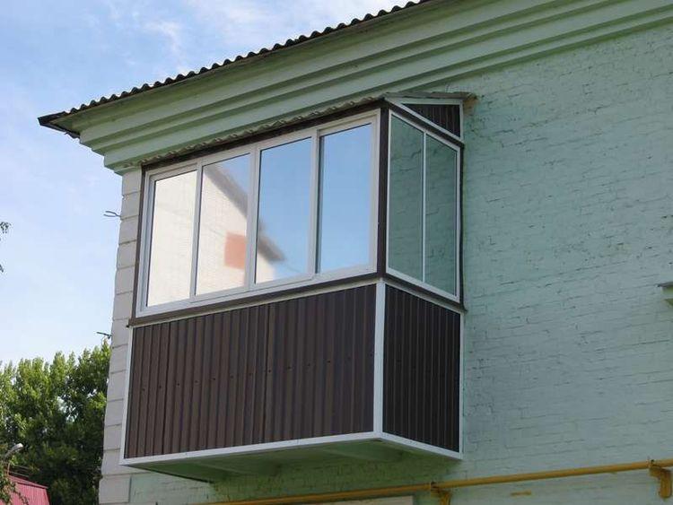 """Легкое остекление балконов - """"пск конструкция"""" выполнит дост."""