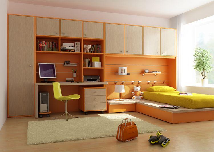 Дизайн комнаты для подростка девочки - способы достижения ид.