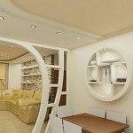 Виды арок из гипсокартона в квартире фото