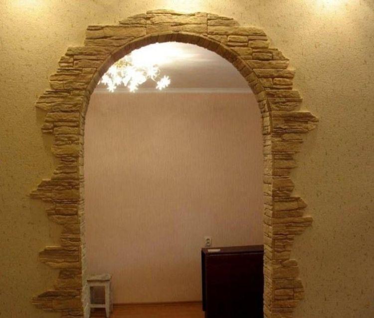Дизайн арок своими руками фото