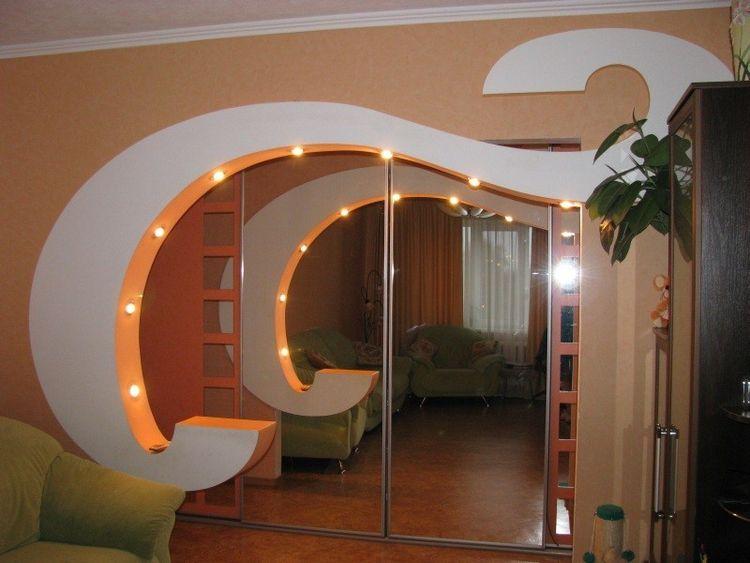Арки в зал дизайн интерьера