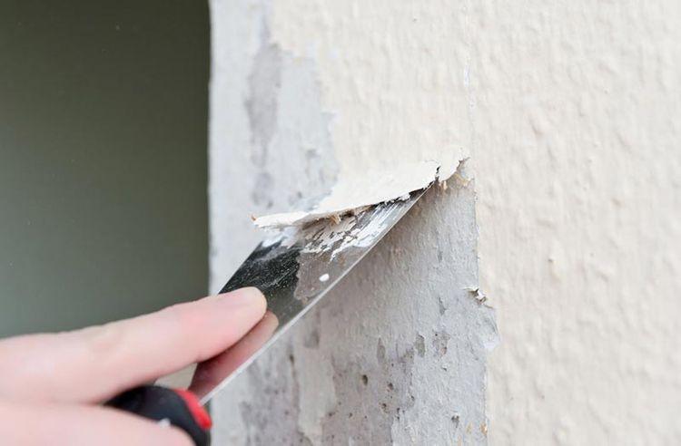 Чем смыть со стены водоэмульсионную краску видео