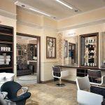 Как красиво покрасит стены в парикмахерской