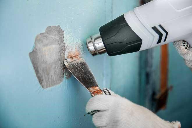Как очистить стену от водоэмульсионной краски быстро