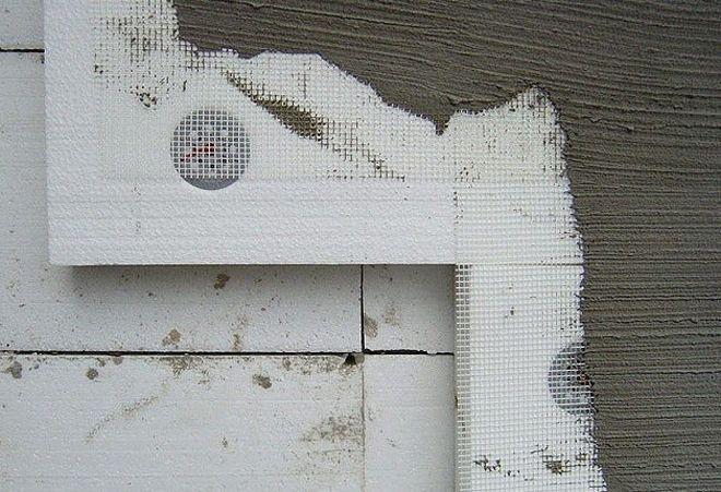 Можно ли штукатурить цементным раствором пеноплекс лобня бетон с завода