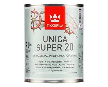 Яхтный лак tikkurila unica super основа ep глянцевый 2 7 л