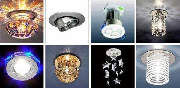 Чем отличаются светильники из гипсокартона и для натяжных потолков