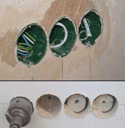 размер коронки для подрозетника