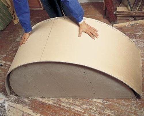 Как согнуть профиль для гипсокартона под прямым углом