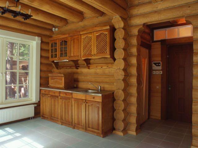 Скользящий крепеж для крепления гипсокартона в бревенчатом доме