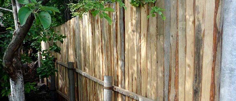 Забор Из Асбестоцементных Труб Своими Руками