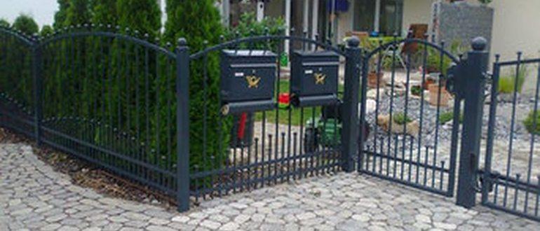 Забор Из Дерева В Германии