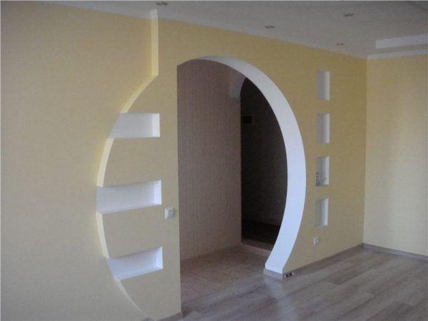 часть пласта арки из гипсокартона уфа фото поисках своего