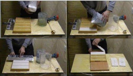 пример работы с плиткой