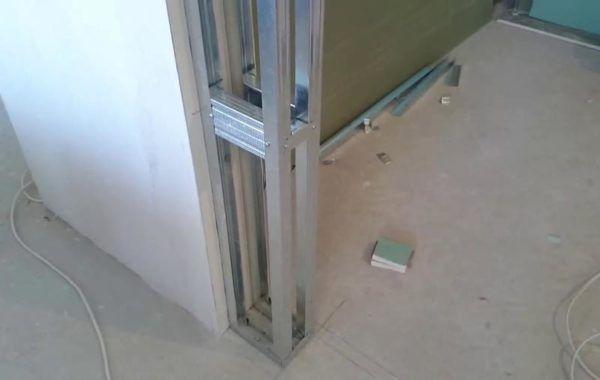 Как уменьшить дверной проем гипсокартоном по высоте и ширине: видео и пошаговая инструкция