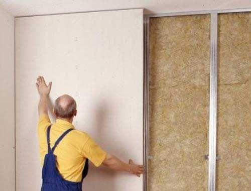 Конструкции из гипсокартона своими руками на стене