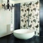 Плитка для ванной комнаты фото, дизайн всегда в моде