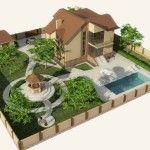 Создаем ландшафтный дизайн 6 соток, обустраивание территории с малыми затратами
