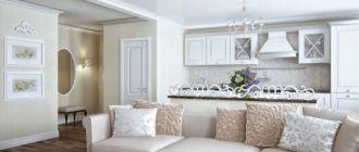 Интерьер гостиной, совмещенной с кухней: фото, основные идеи, выбор оформления