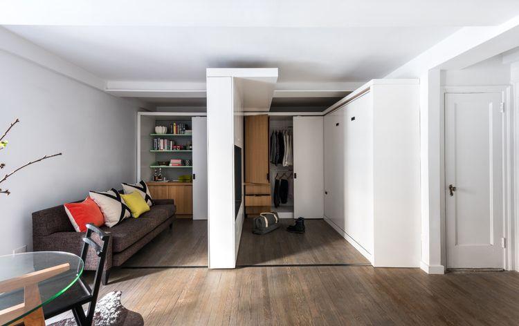 Дизайн однокомнатной квартиры 35 кв м фото в современном стиле, и новыми материалами с фото примерами