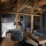 Современный интерьер деревянного дома внутри, фото сопровождение и подробности обустройства