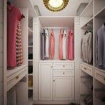 Как обустроить гардеробную комнату просто и со вкусом?