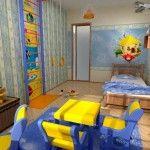 Ремонт детской спальни