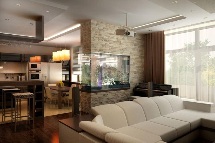Интерьер гостиной 18 кв м фото – характерные особенности