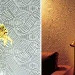 Фактурная штукатурка в интерьере: фото, особенности и укладка своими руками