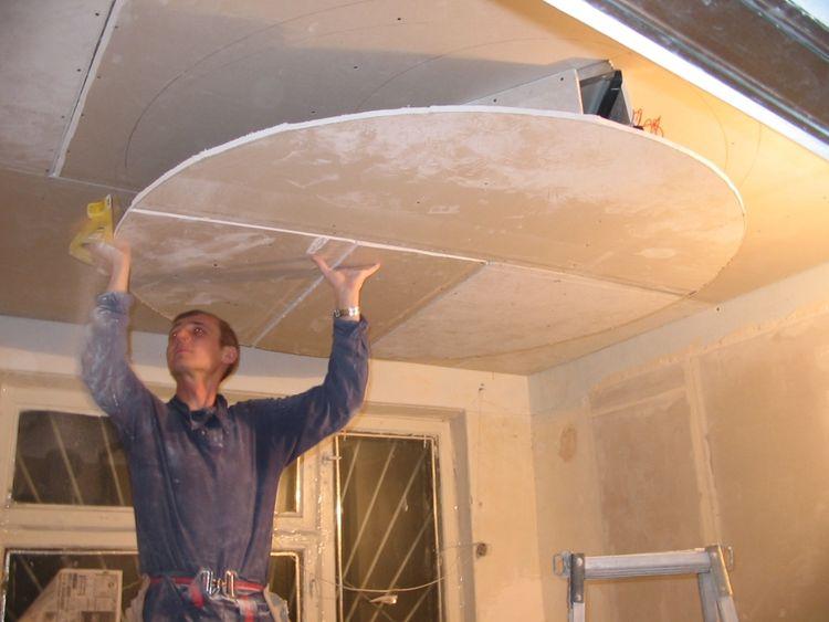 Как сделать потолки для спальни из гипсокартона, дизайн и подсветку