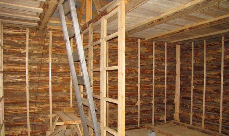 деревянная опора для гипсокартона