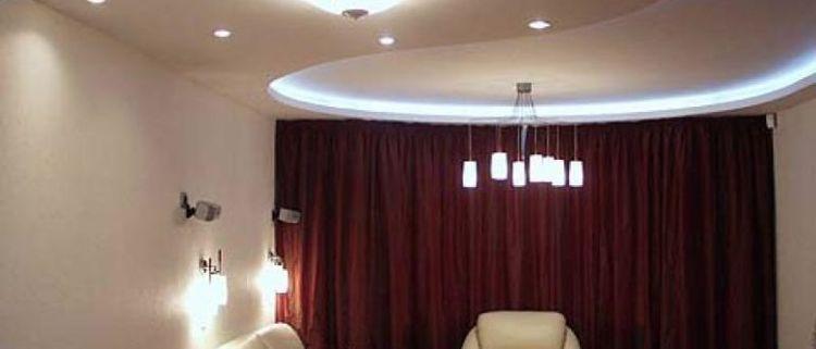 какой потолок лучше гипсокартон или натяжной