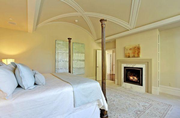 фото красивого потолка для зала