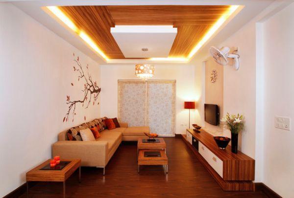 фото красивого потолка гостиная