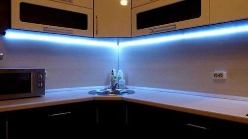 Угловой профиль для светодиодных лент - достоинства, параметры, способы монтажа