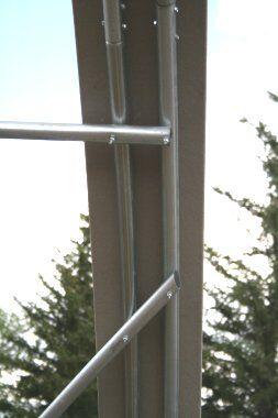 Постройте теплицу используя надежные материалы - профильную стальную трубу для каркаса и сэкономьте деньги