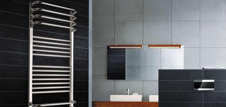 Разновидности полотенцесушителей для ванной комнаты