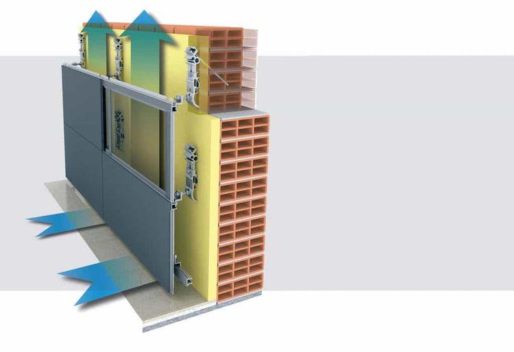 Вентилируемый фасад: особенности и преимущества