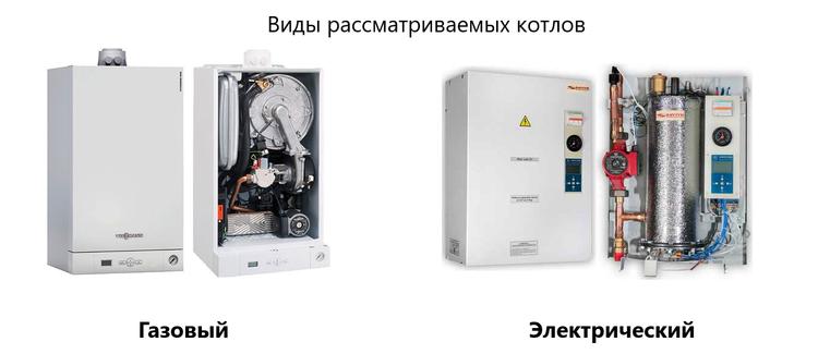 Что выбрать: газовый котел или электрический