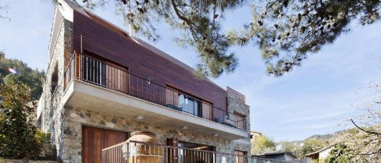 Как использовать натуральный камень в дизайне домов